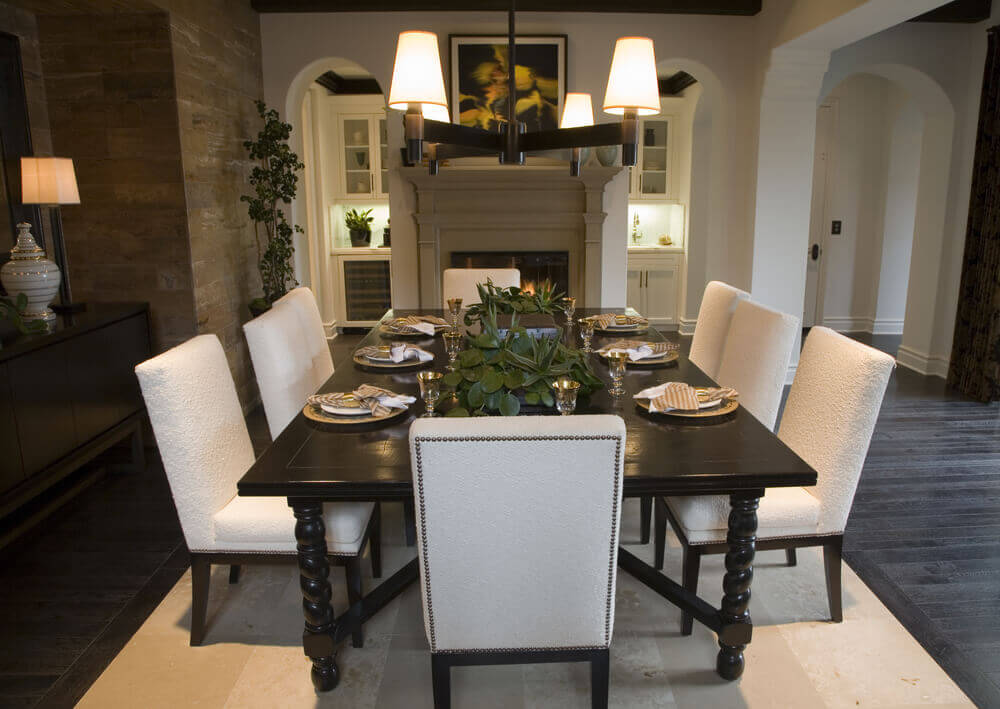 Beautiful Modern Dining Room 1000 x 709