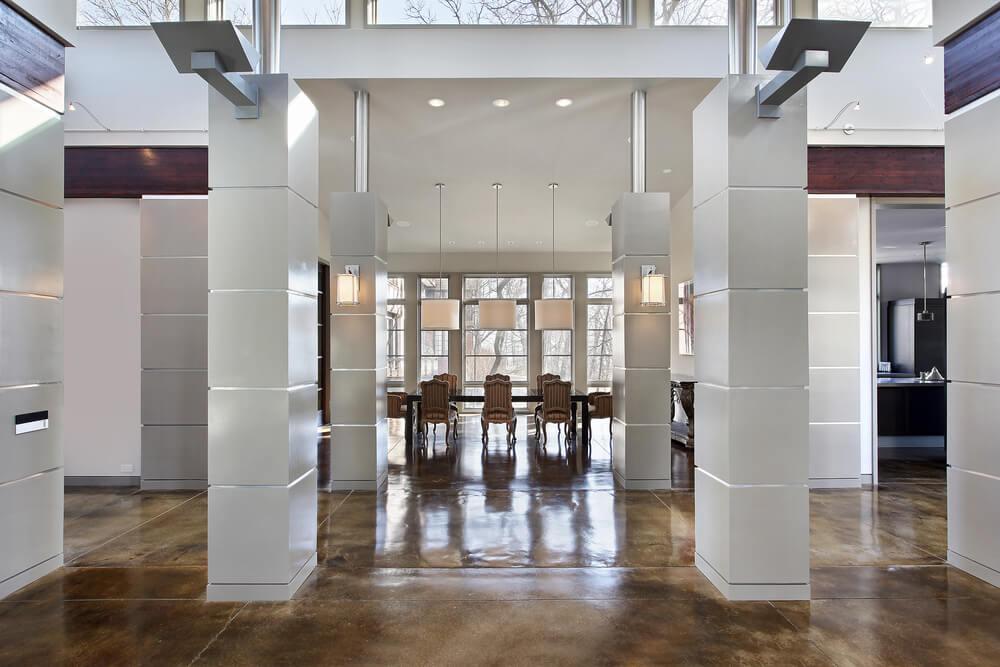 Converting Two Story Foyer To Room : Custom luxury foyer interior designs