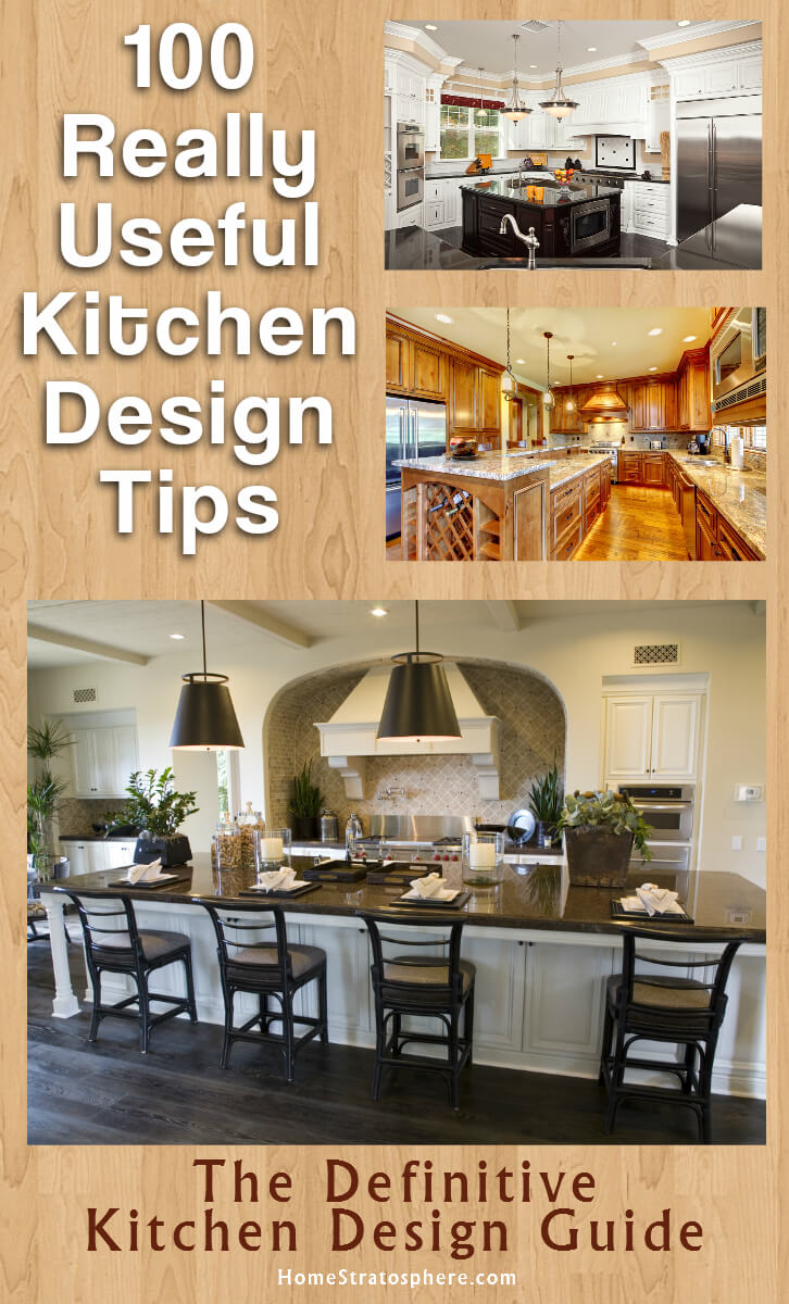100 Kitchen Design Tips Guide