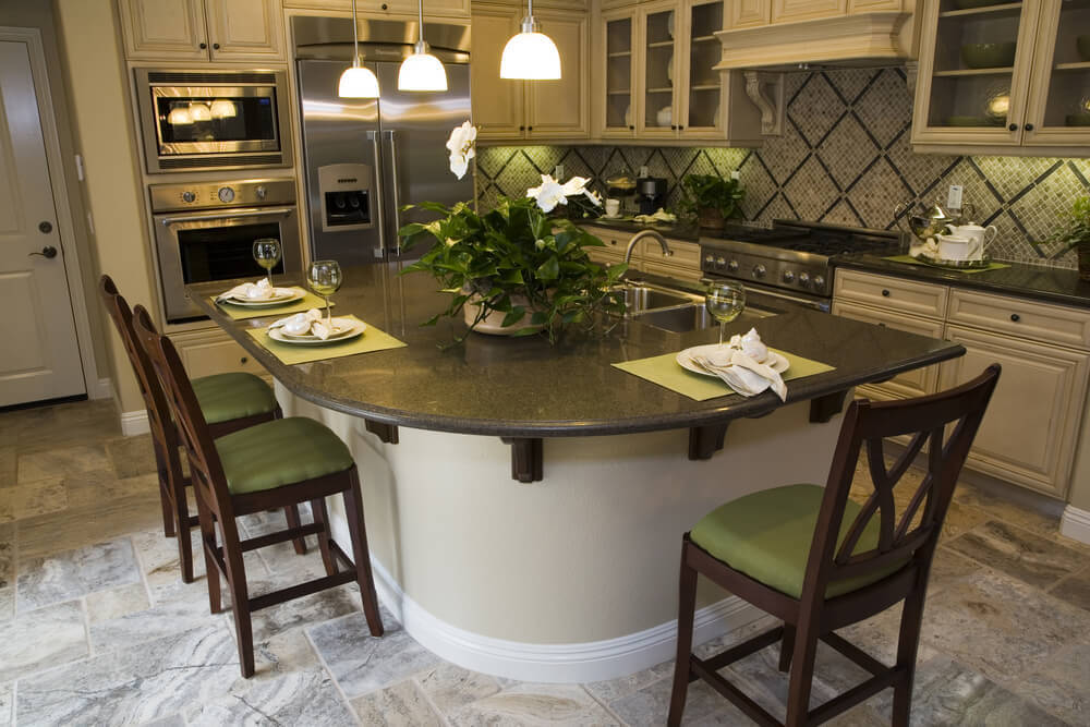 39 fabulous eat in custom kitchen designs With custom eat in kitchen designs