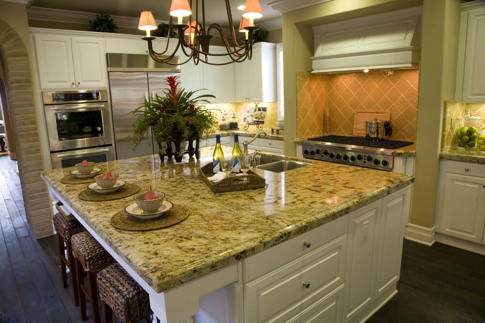 39 fabulous eat in custom kitchen designs for Square kitchen designs