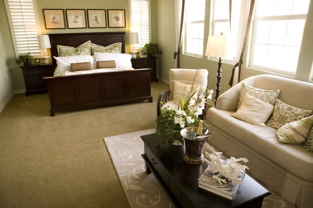 Here S A Combination Living Room And Sleeping Area With A