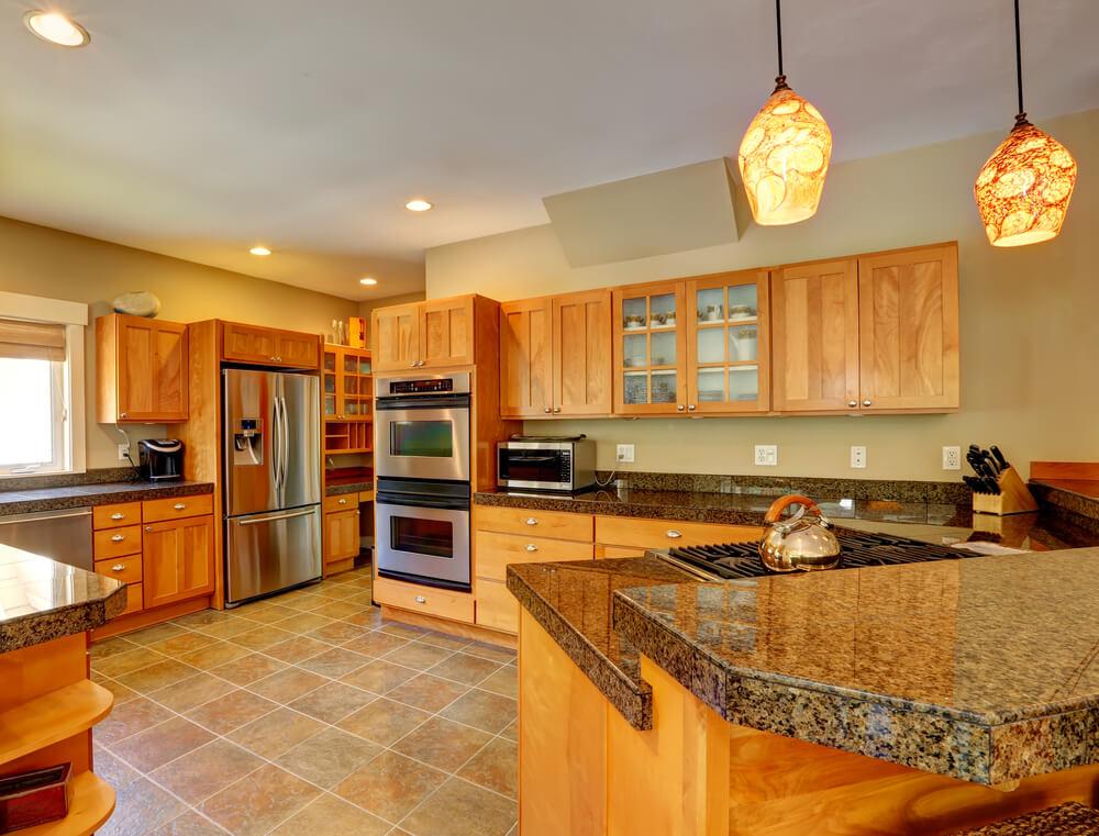 36 custom bright airy contemporary kitchen designs for Earth tone kitchen ideas