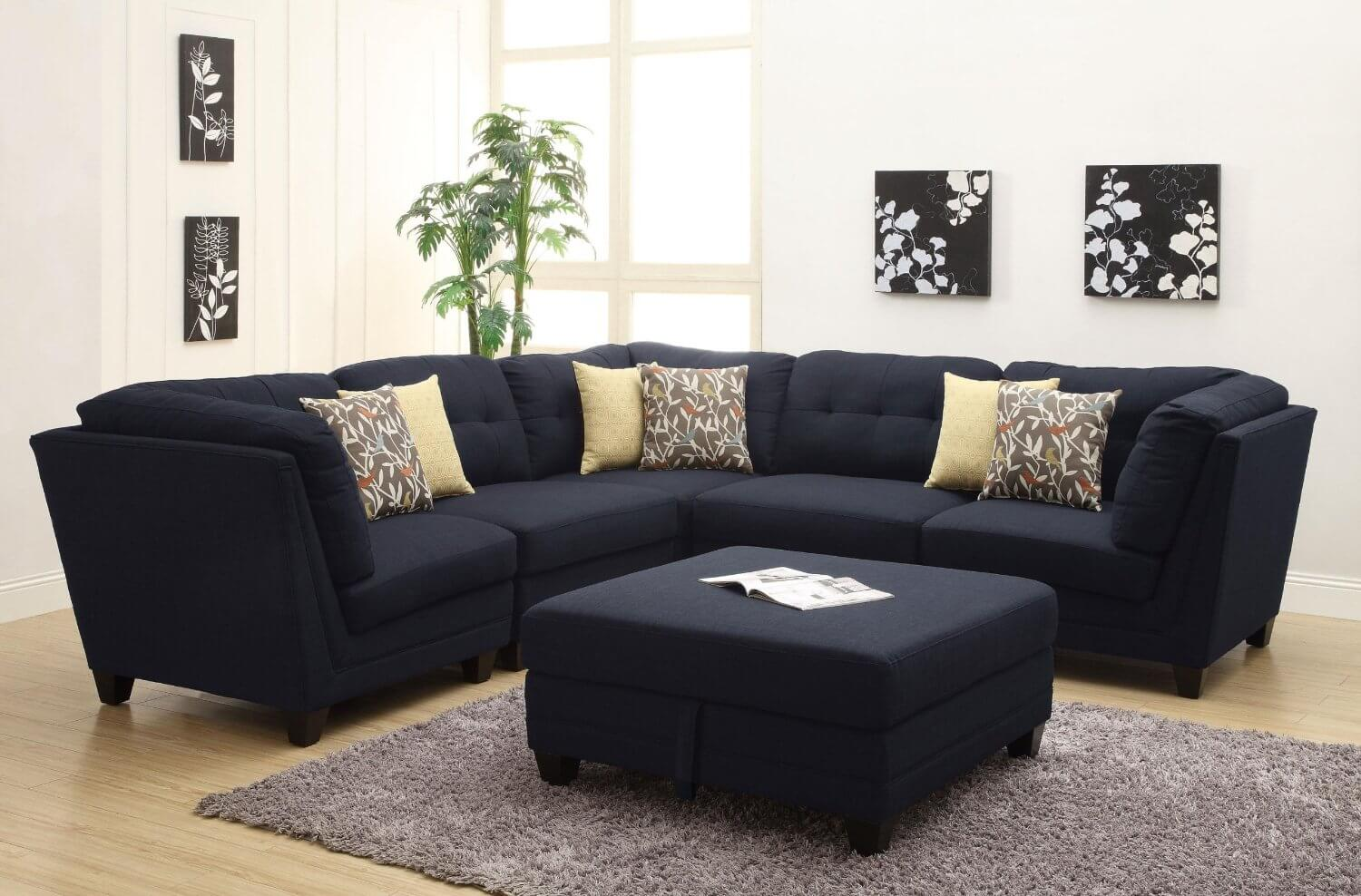 37 beautiful sectional sofas under 1 000 for Brighton taupe 3 piece chaise and sofa set