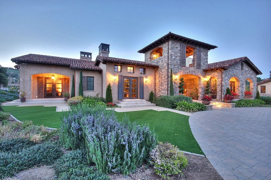 Featuring a grand 8,360 square feet Tuscan estate via Zillow Digs TM .