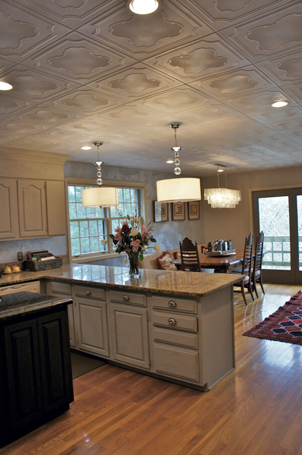 Http Www Homestratosphere Com Decorative Ceiling Tiles For Kitchens