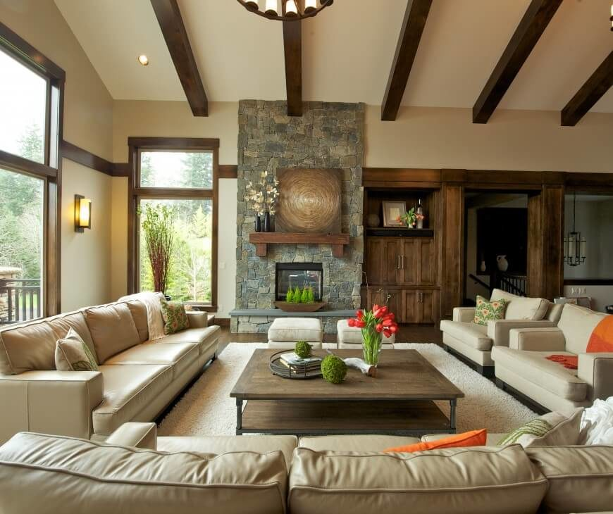 15-living-room-pillar-style-craftsman-Nordby Portland