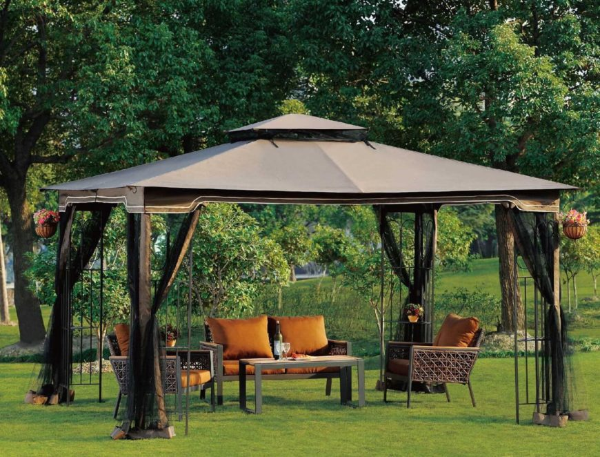 These portable gazebos are a great way to create a focal point or retreat in your backyard without investing the money or space in a permanent one.