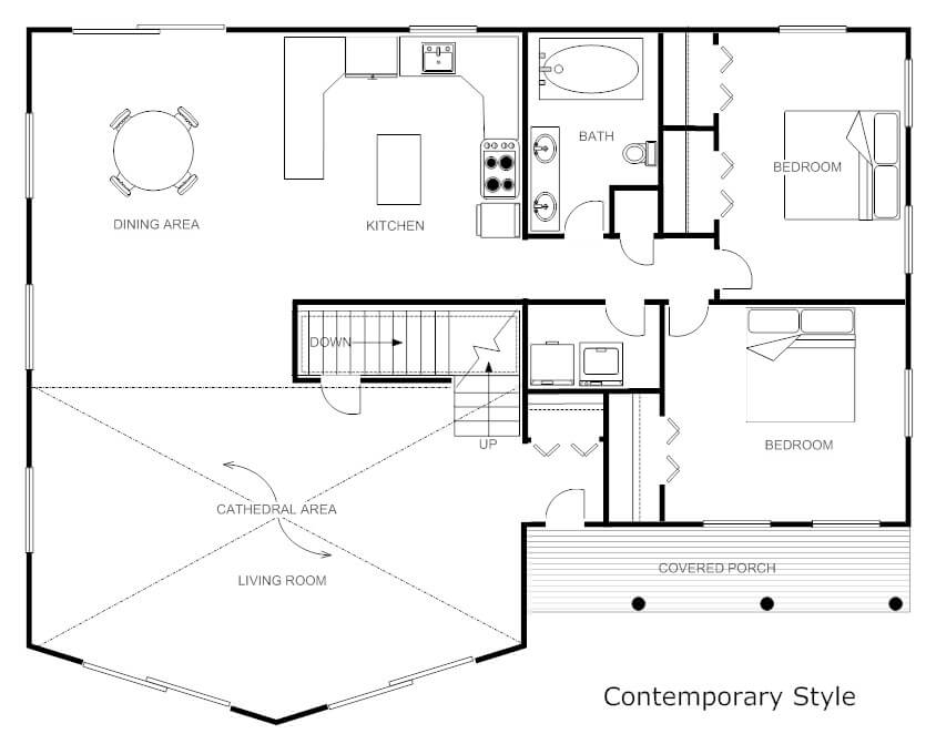 18 best online home interior design software programs for Create my floor plan
