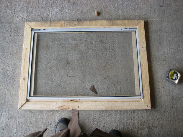 Building window frames