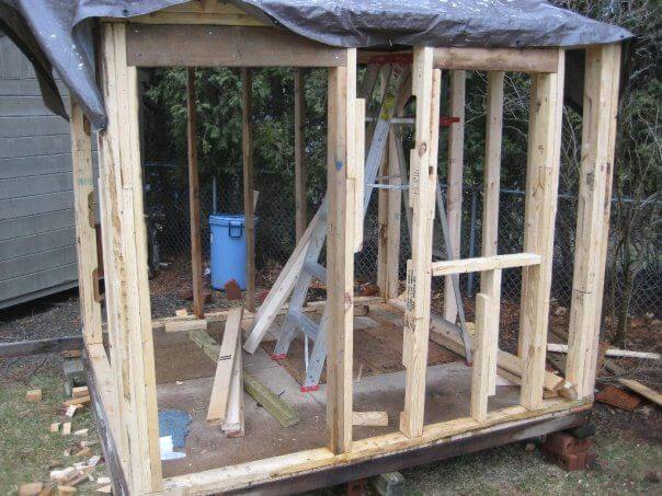 Framing the playhouse