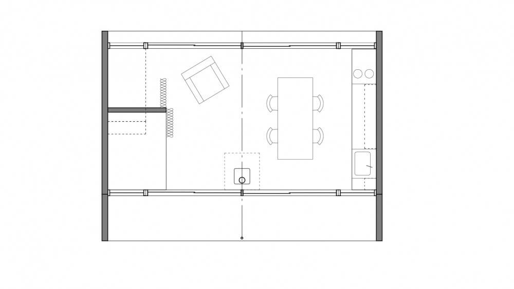 Floor plan of Arado House