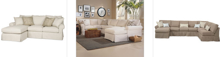 Slipcovered Sectionals