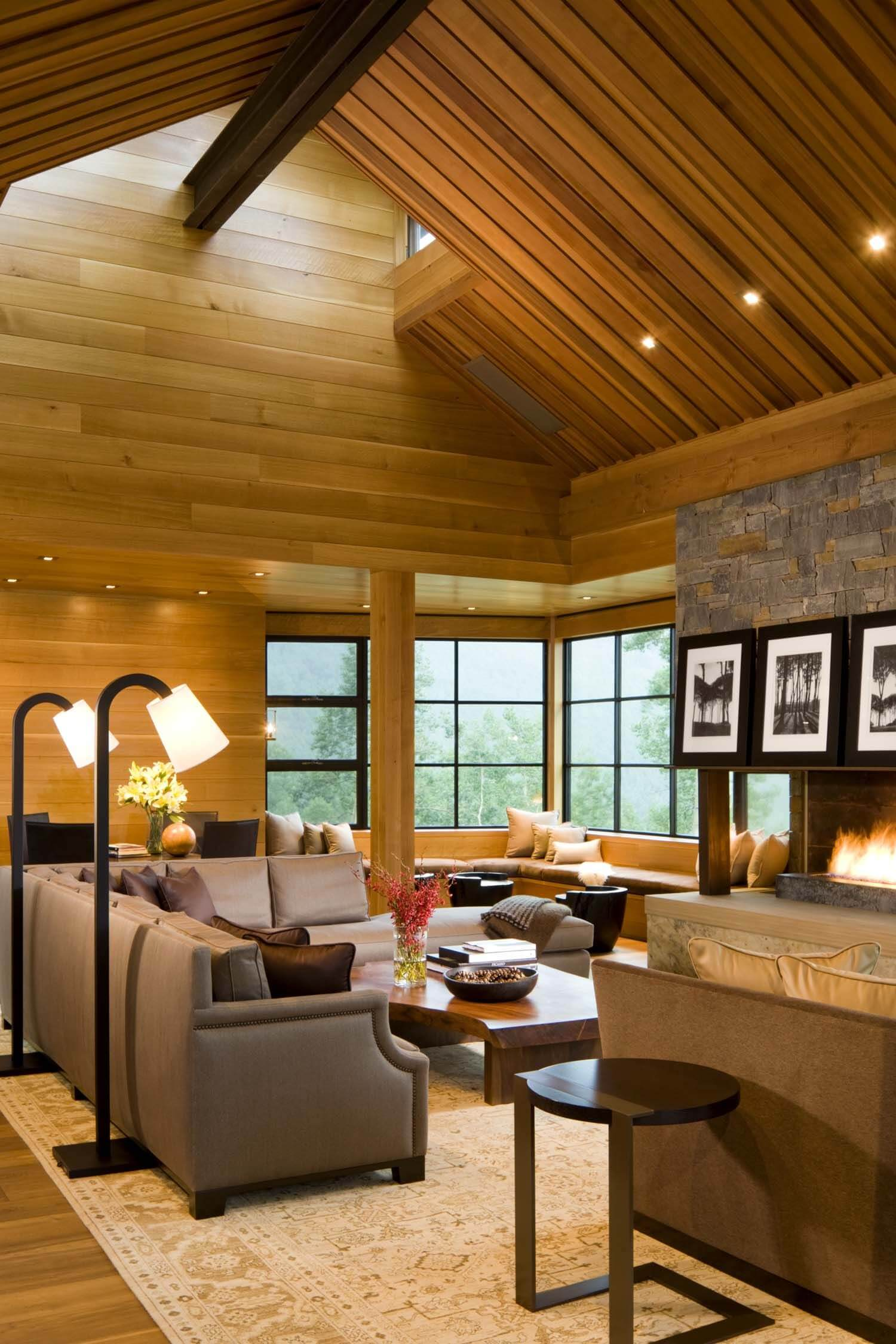Picture of: 45 Contemporary Living Rooms With Sectional Sofas Pictures
