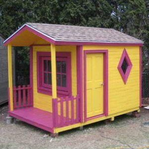 Wood Pallet Playhouse