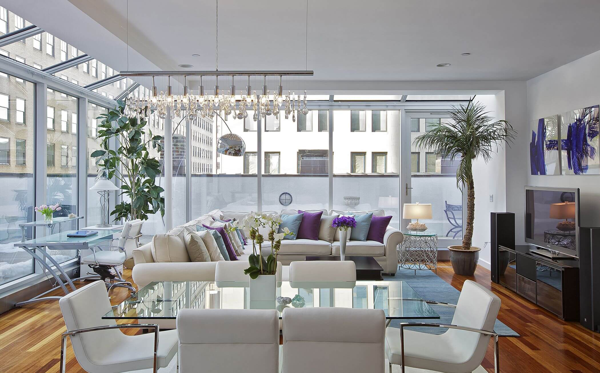 Image of: 45 Contemporary Living Rooms With Sectional Sofas Pictures