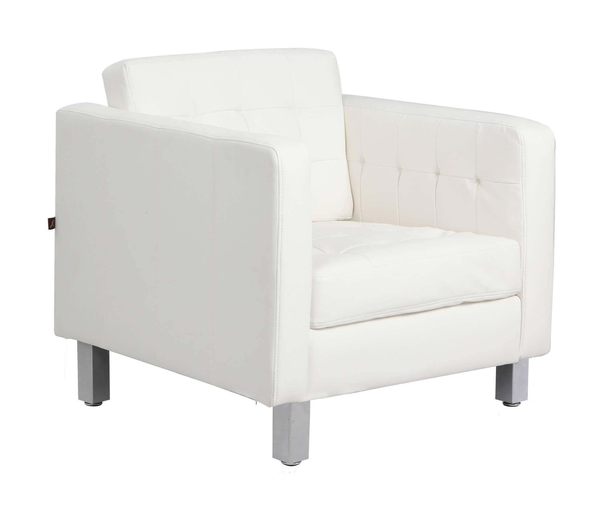 Image of: 37 White Modern Accent Chairs For The Living Room