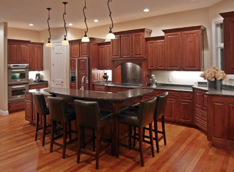 52 Dark Kitchens With Dark Wood Or Black Kitchen Cabinets 2021