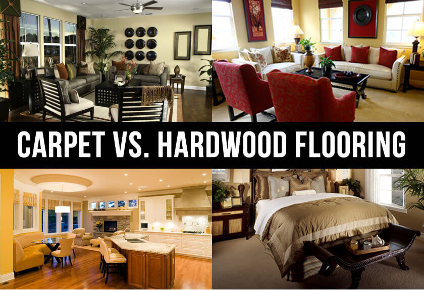carpeting vs hardwood flooring