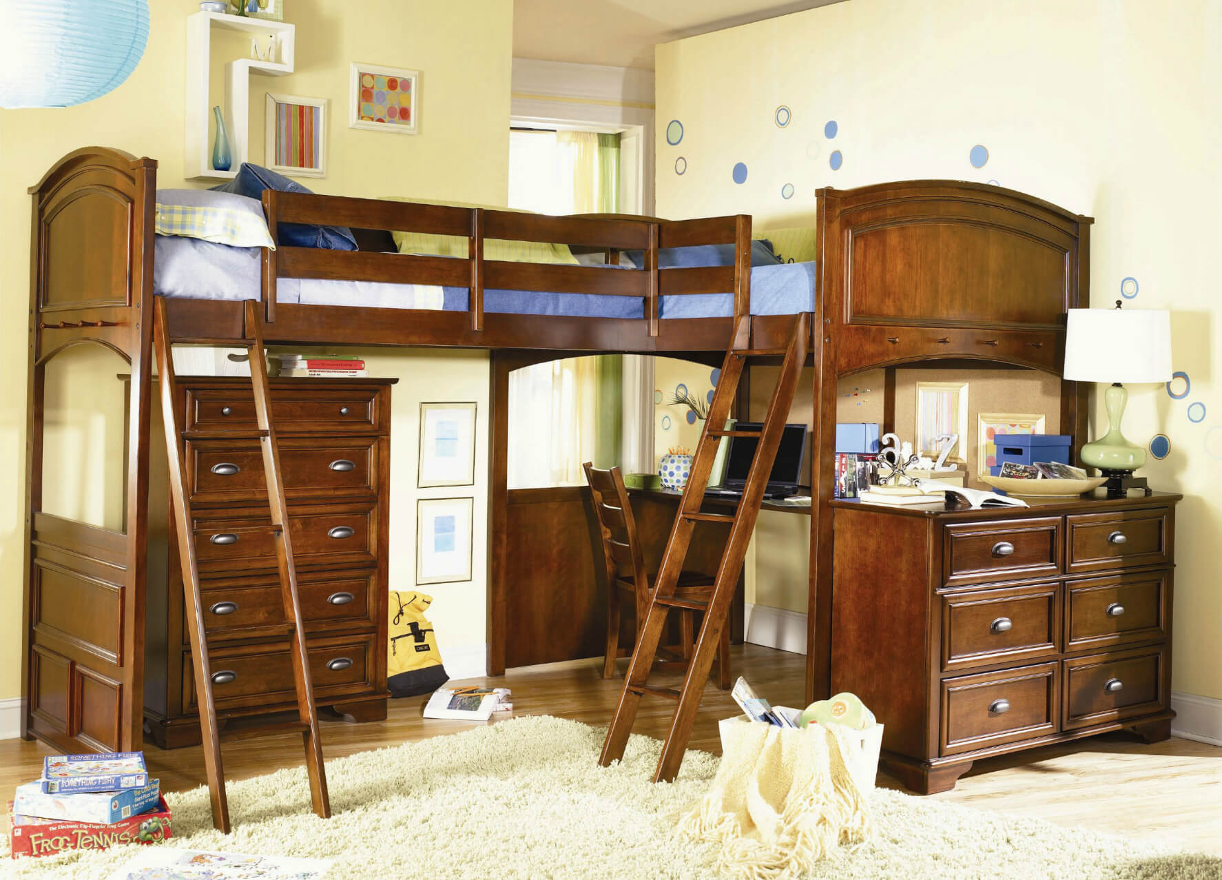 Picture of: 21 Top Wooden L Shaped Bunk Beds With Space Saving Features