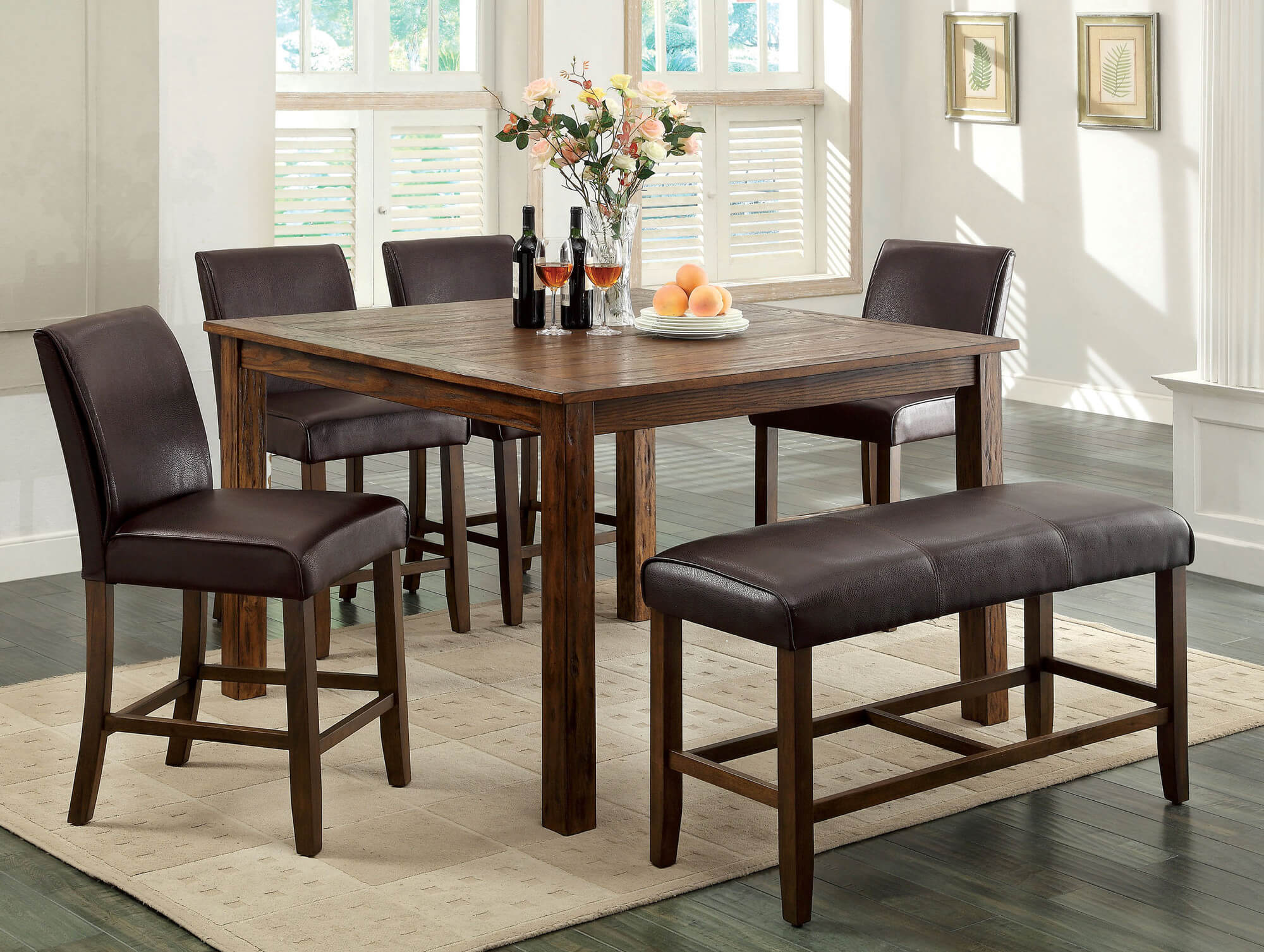 26 Dining Room Sets Big And Small With Bench Seating 2021