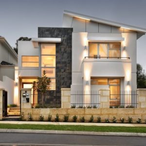 Outside view of the Derby House by Daniel Lomma Design