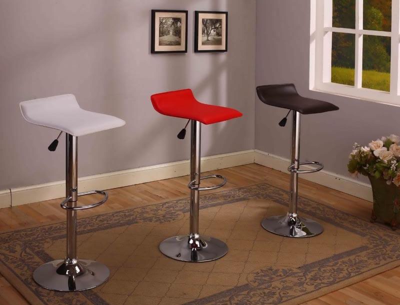 2multi colored stool set