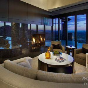 Contemporary Desert Home Interior Design by Angleica Henry Design