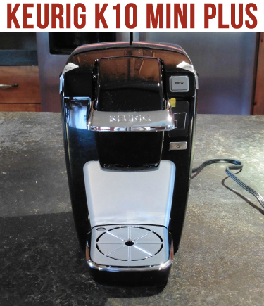 Keurig K10 Mini Plus Coffee Brewing System Coffee Maker