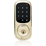 Home door remote locking system by Frontpoint Security