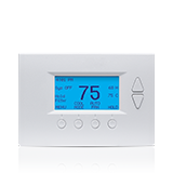 Remote thermostat control system by Frontpoint security