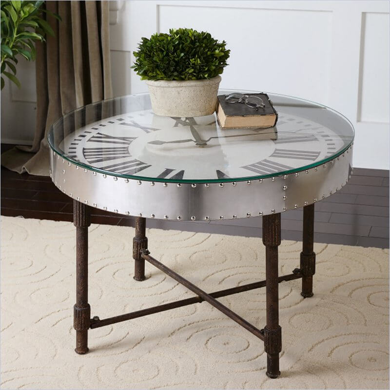 This is a style purposely evoking specific, often quirky design philosophies from days past. Sometimes employing repurposed materials, from license plates to reclaimed wood, vintage coffee tables will have a kitschy, classic, unique touch that fits well surrounded by other vintage items.