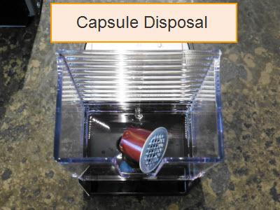 Nespresso Pixie Capsule Disposal Container