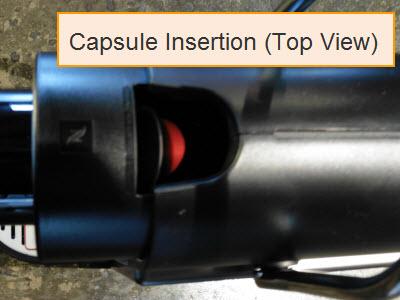 Nespresso Pixie Capsule Insertion Location