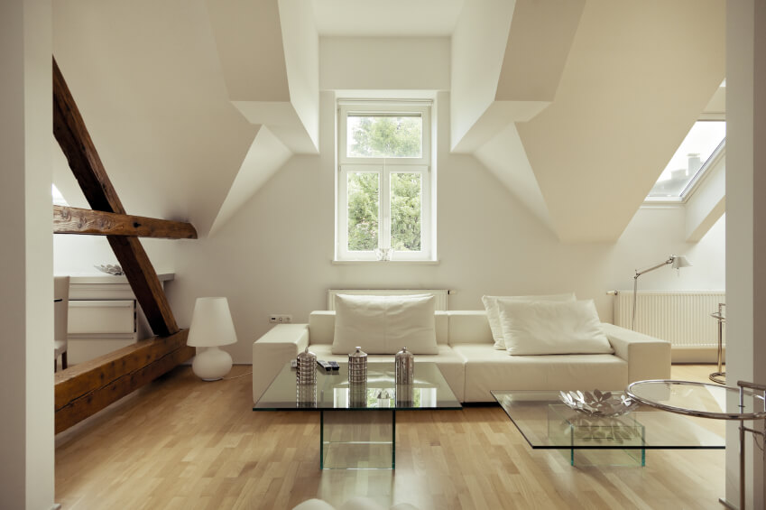 Attic living room