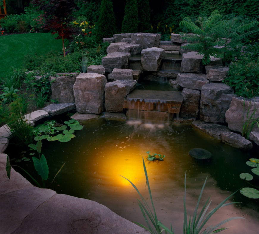 50 Pictures Of Backyard Garden Waterfalls Ideas Designs,Diy Painted Flower Pots Designs For Painting Drawing