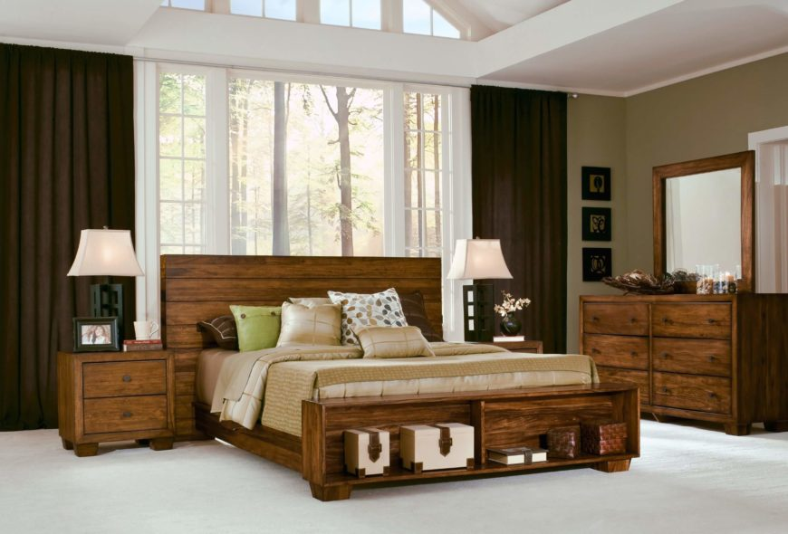 A rustic, solid bed frame in Sengon Tekik Javanese hardwood with a gorgeous natural wood grain. This set is island bliss mixed with urban elegance and will be a striking addition to your home's design.