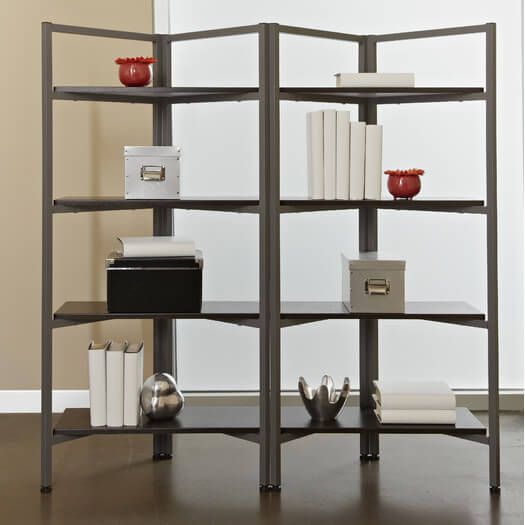 Jesper-Office-Tribeca-Storage-Bookcase-with-Four-Shelves