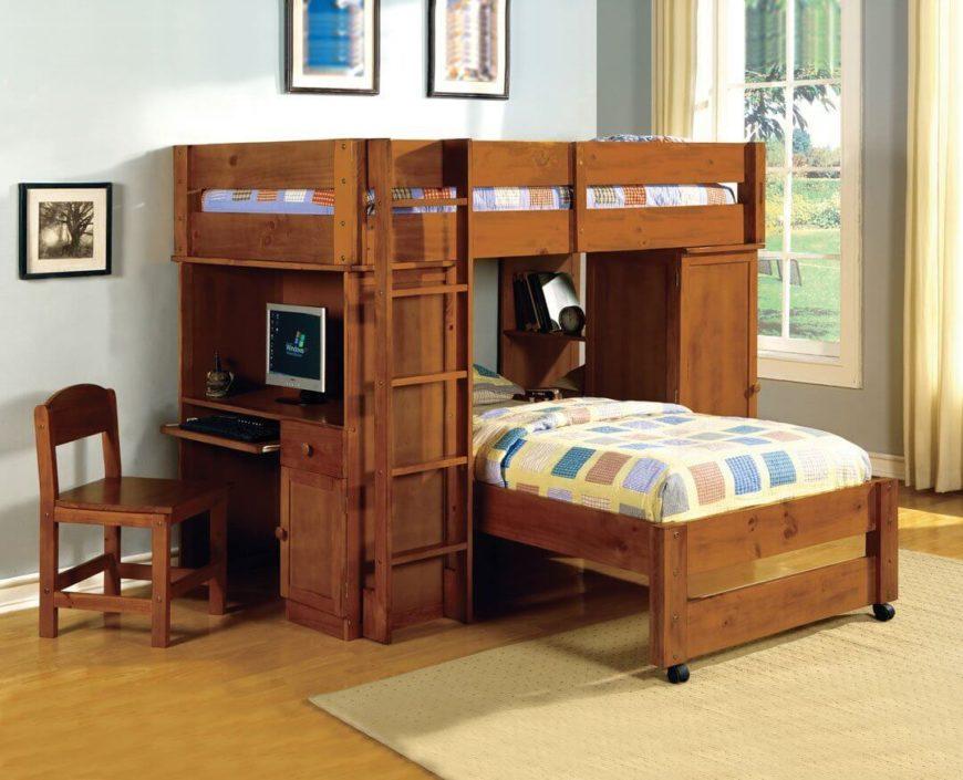 25 Bunk Beds With Desks Made Me Rethink Bunk Bed Design
