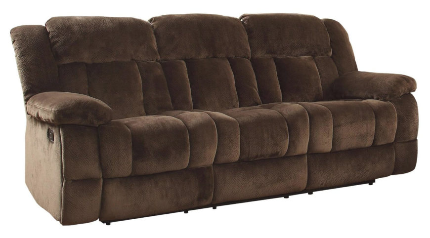 Reclining sofas are another very popular addition to the man cave. All the comfort of a recliner is packed into the function and space of a sofa, allowing for a group of friends to relax in style.