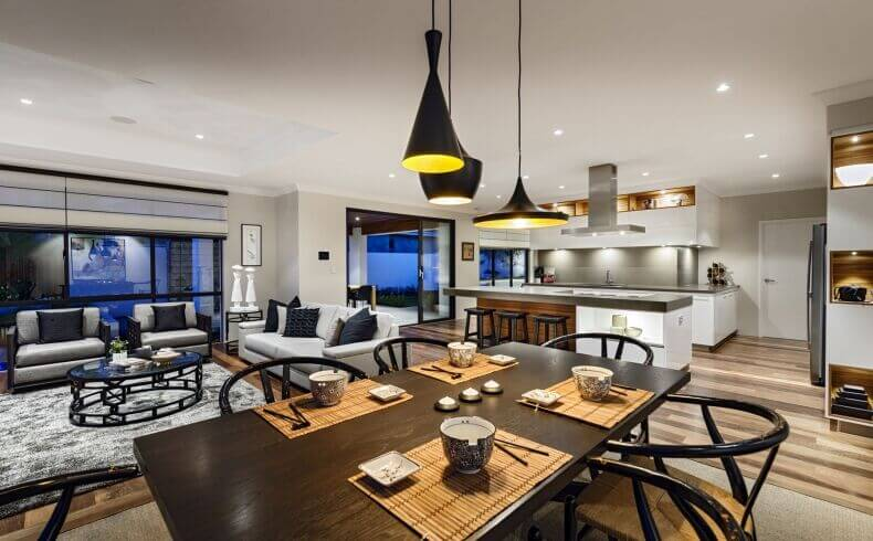 26 Incredible Airy Living Rooms With Kitchen Openings Tons Of Variety