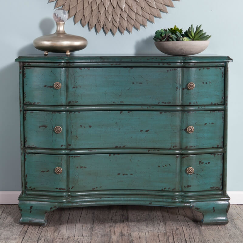 Whether you buy yours or upcycle a flea market find, these are a great way to add storage with style.