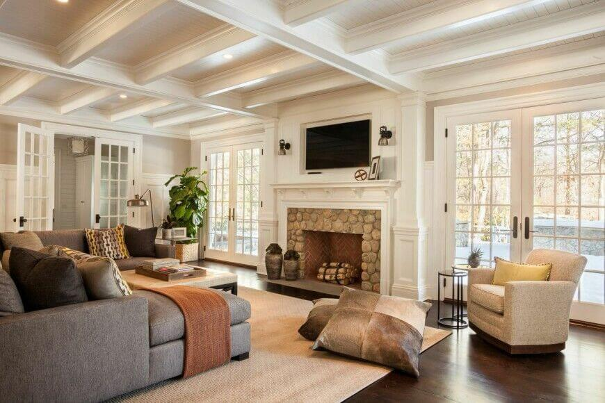 49 Exuberant Pictures Of Tv S Mounted Above Gorgeous Fireplaces Great Images