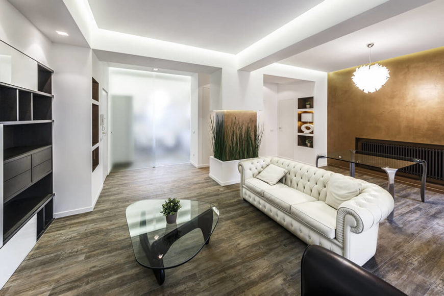 Modern apartment interior design by Brain Factory