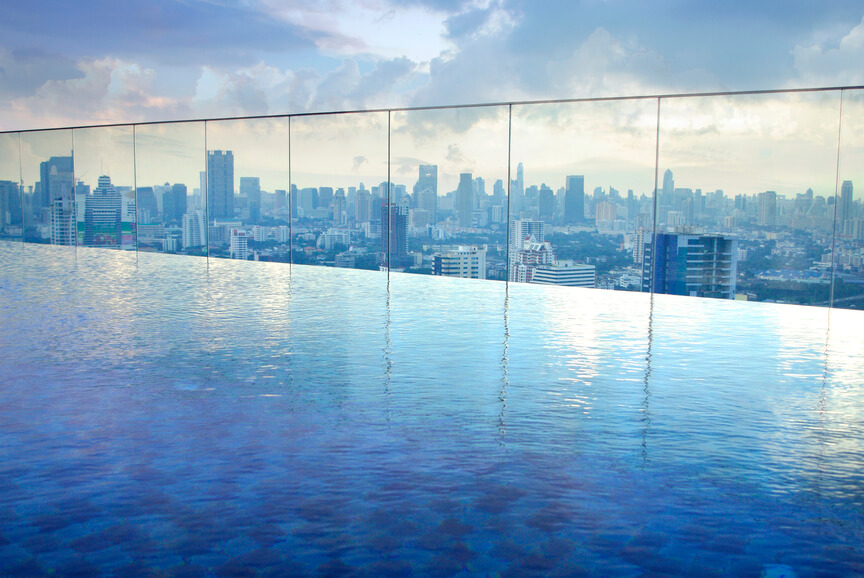24 Astonishing Rooftop Swimming Pools Beautiful Pictures