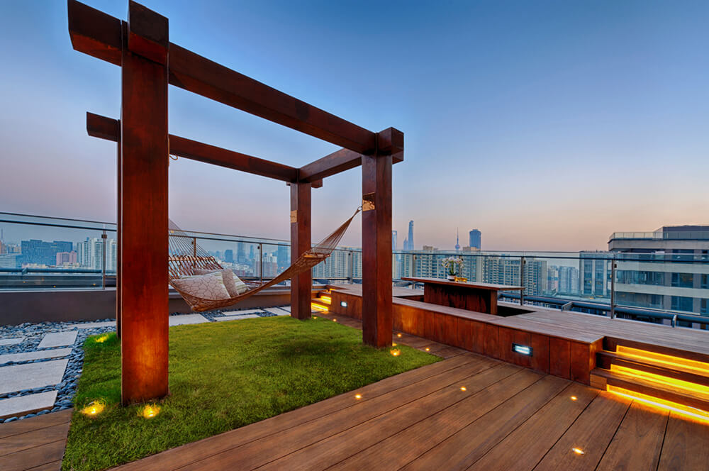 53 Top Of The World Rooftop Patio Ideas Photos