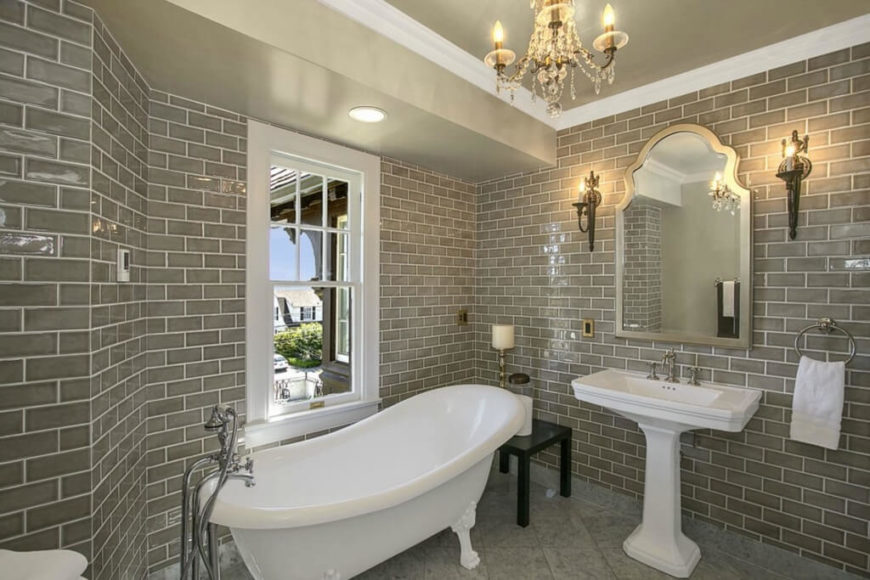 33 Relaxing Clawfoot Bathroom Tub Ideas Photos