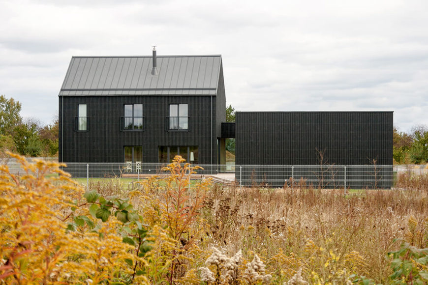 Welcome to our gallery featuring the Imposing Švedų House by Aketuri Architektai.