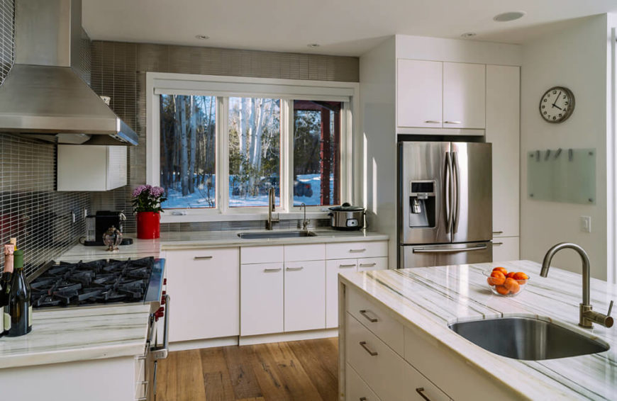 55 Gorgeous Kitchens With Stainless Steel Appliances Photos