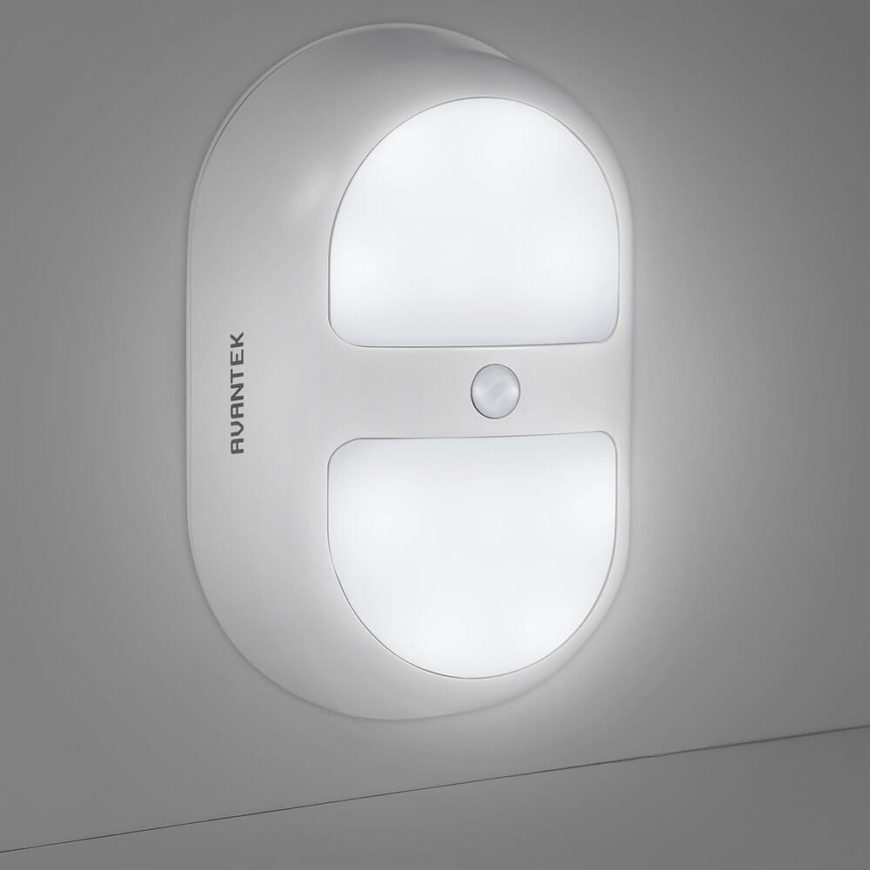 This LED night light is a perfect example of motion sensing at its simplest and most direct. While most nightlights turn on the second it gets dark, this one saves even more power by only working when you're in the room.
